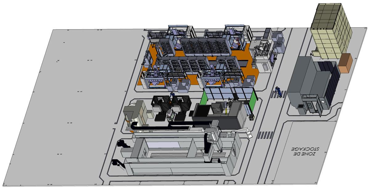 Plan nouvel atelier