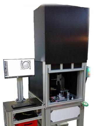 machine spéciale poste de controle par vision - LuxMéca